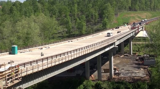 VDOT: Berkmar Bridge Project in Albemarle Co. Ahead of Schedule