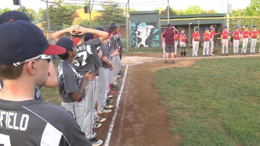 The Northside Cal Ripken Youth Baseball League's game Friday night