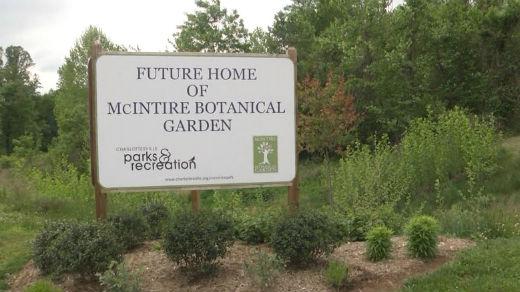 McIntire Botanical Garden in Charlottesville