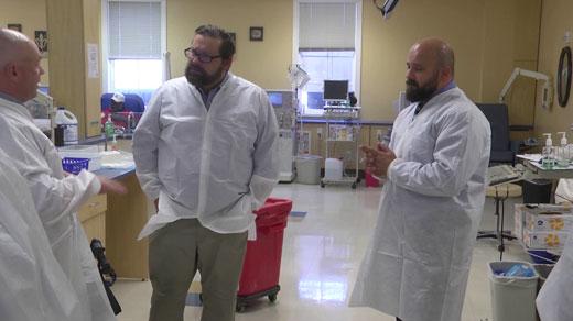 Rep. Tom Garrett at DeVita Dialysis Center