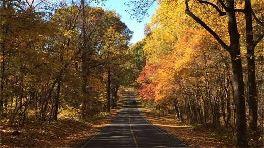 Skyline Drive in October 2016