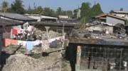 Over 3,200 structures in Leogane were damaged in the quake.