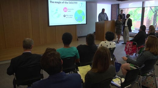 The Dream Team presents its project during Leadership Charlottesville's graduation Tuesday