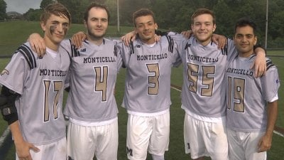 It was Senior Night for the Monticello HS lacrosse team