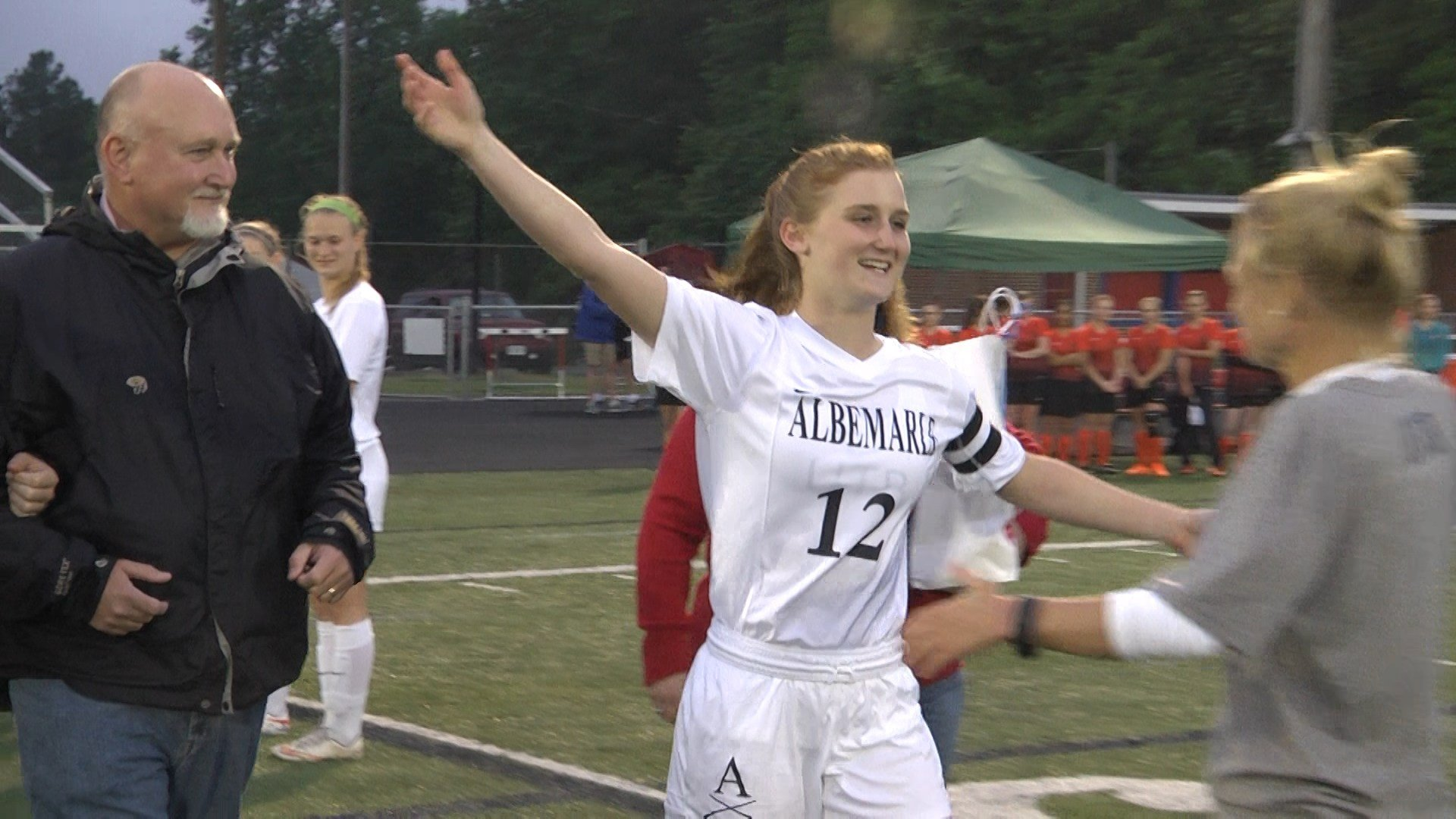 Albemarle's Anne Ridenhour celebrates Senior Day