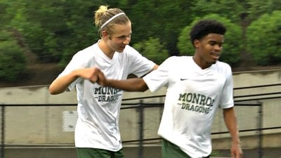 Carter Lamm and David Smith both scored for William Monroe