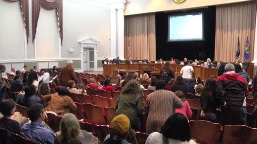 The Albemarle County School Board discussed the future of Yancey Elementary School Thursday night