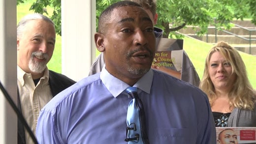 "Kenneth ""Kenny"" Jackson, independent candidate for Charlottesville City Council"