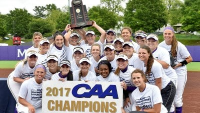 JMU Softball Wins 2017 CAA Championship