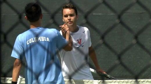 Henrik Wiersholm (VA) defeated Timothy Wang  6-1, 6-3