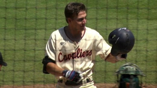 Jake McCarthy hit his third home run of the season in game three against Miami