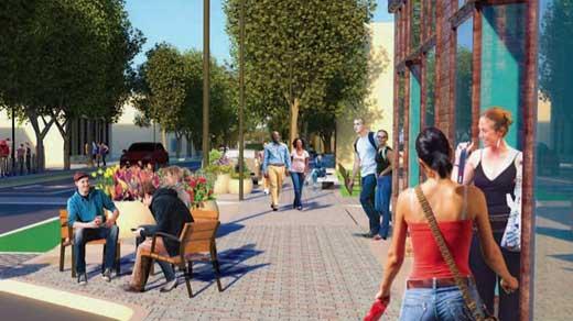 "West Main Street ""Streetscape"" design"