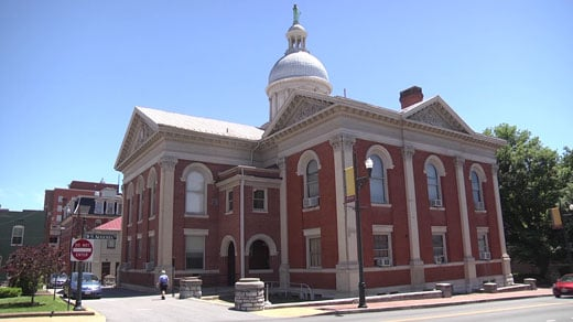 The current Augusta County courthouse