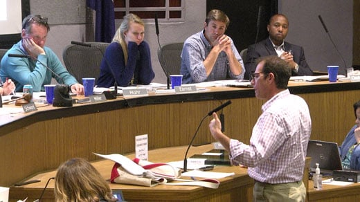 The Charlottesville Board of Architectural Review met Tuesday night