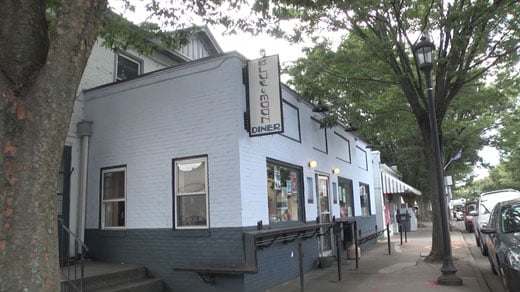 Blue Moon Diner on West Main Street