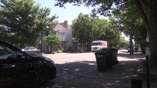 West Main Street in Charlottesville