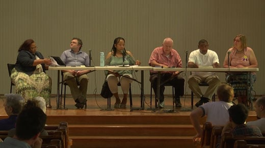 The five independent candidates running for Charlottesville City Council were at The Haven