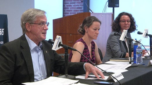 The three Democrats running for Charlottesville City Council were at CitySpace