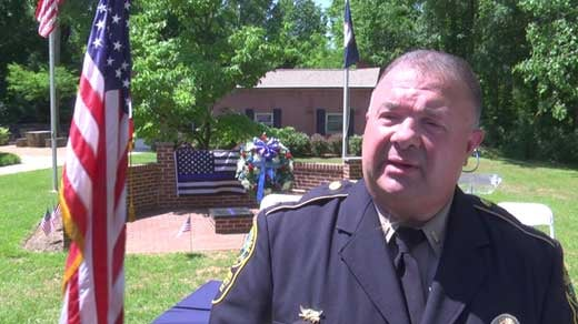 Lieutenant Mike Wagner, Albemarle County Police Department