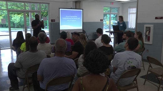 Public workshop held on Charlottesville's 2018 comprehensive plan