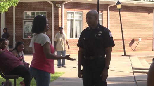 Chief Al Thomas, Charlottesville police