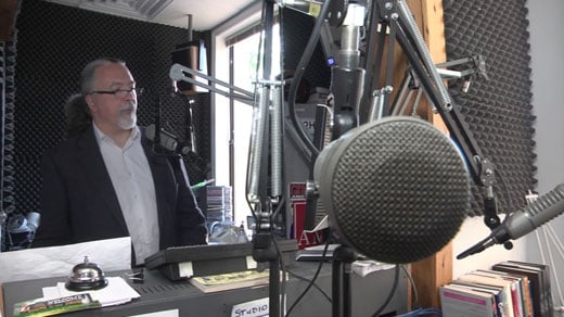Tom Garrett held a radio town hall with Charlottesville-based WCHV