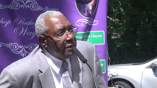 Reverend Rufus Hayes