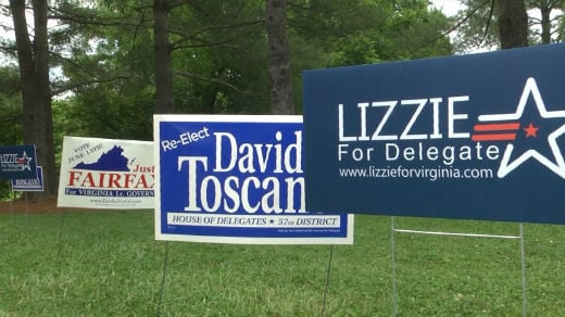 An ice cream social was held at Pen Park for Democratic candidates for lieutenant governor