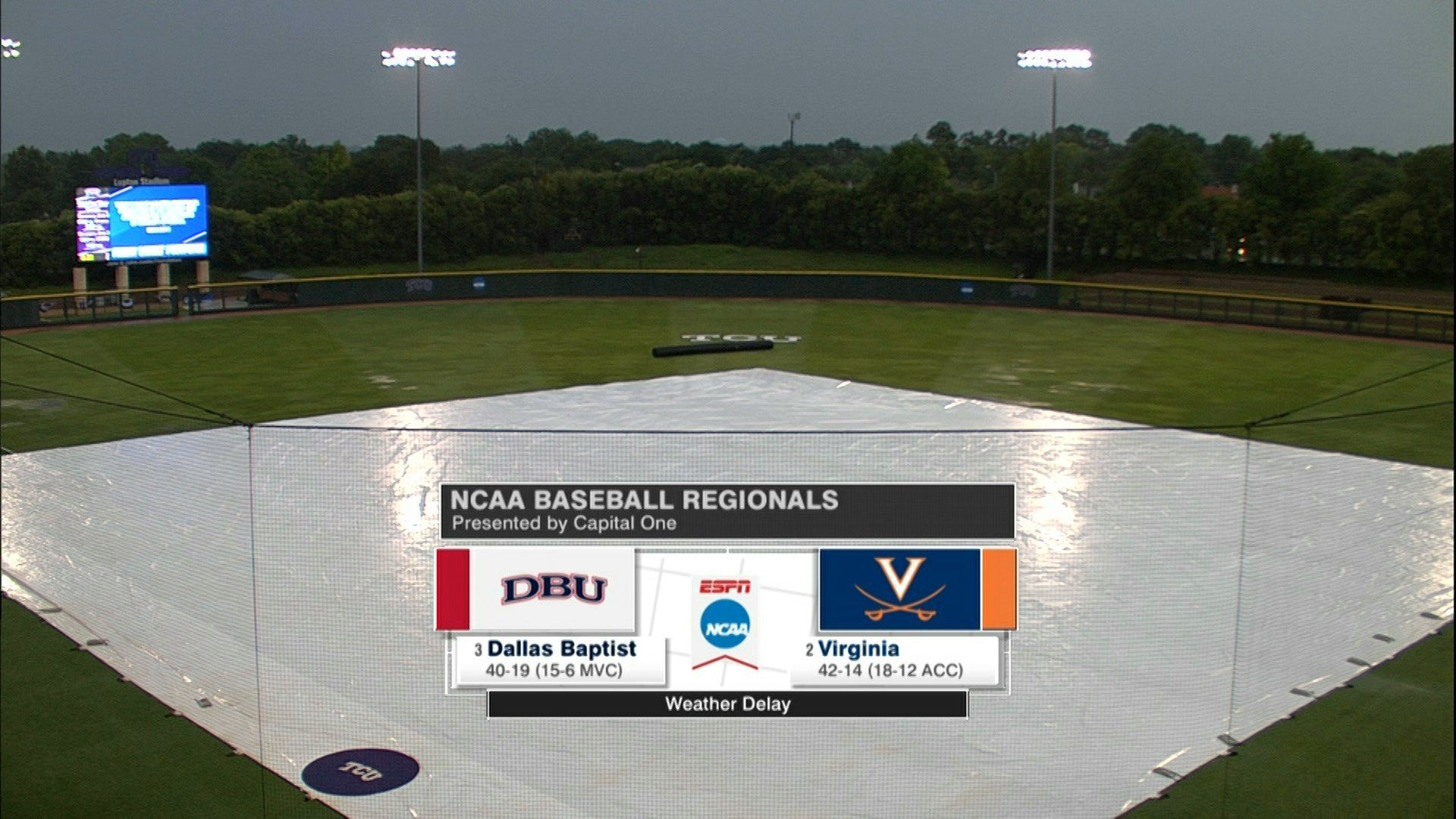 Host TCU reaches regional final with 5-1 win over Virginia