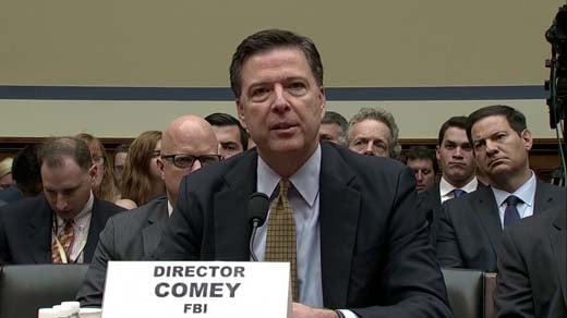 Former FBI Director James Comey