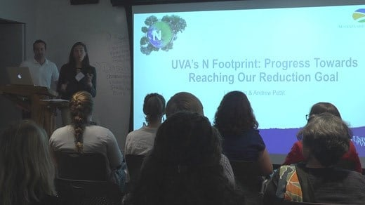 Forum on nitrogen emission levels at the University of Virginia