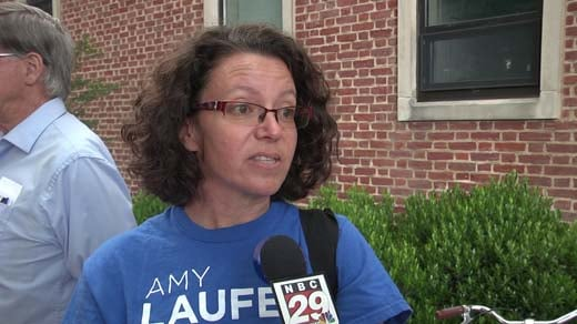 Amy Laufer, Charlottesville City Council candidate