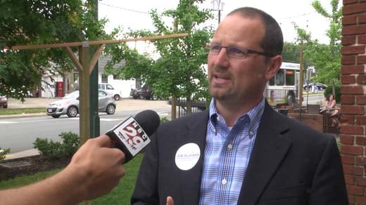 Joe Platania, Charlottesville commonwealth's attorney candidate
