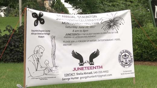 Staunton is holding its first annual Juneteenth Celebration