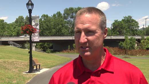 Dwayne Jones, Waynesboro Parks and Recreation director