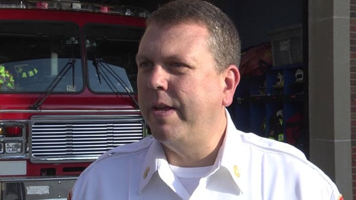 Charlottesville Fire Captain Joe Phillips