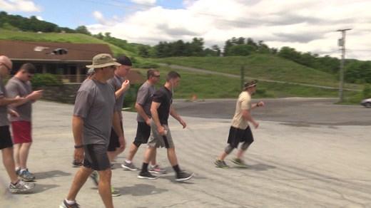 Charlottesville Torch Run participants