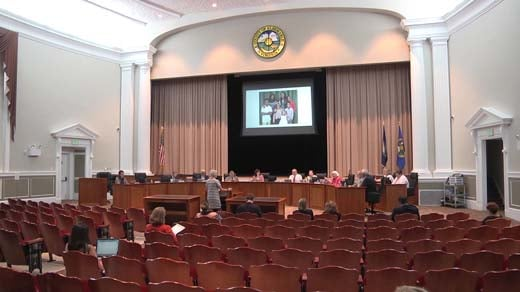 The Albemarle County School Board met to discuss Yancey Elementary School Thursday