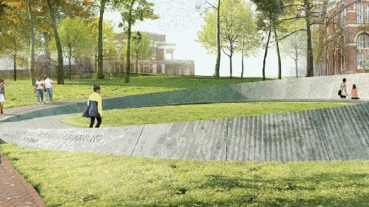 Proposed Design for Memorial to Enslaved Laborers