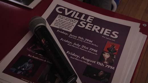 Cville Series Open Mic Night kicked off Friday