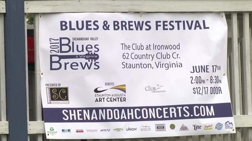 The 2017 Shenandoah Valley Blues and Brews festival will take place June 17