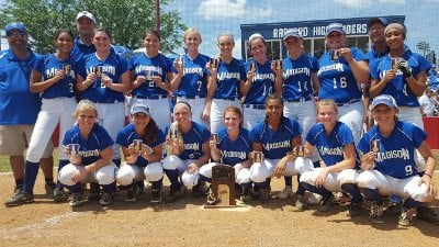Madison County HS softball wins the 2A State Championship