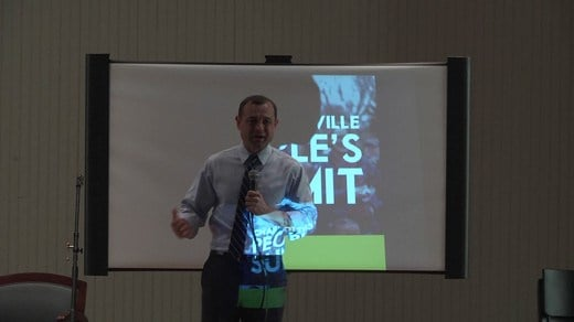 Tom Perriello at Charlottesville People's Summit