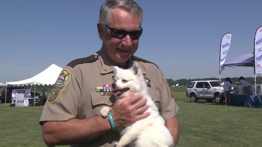 """at """"Wings and Wheels for Paws"""" in FLUCO"""