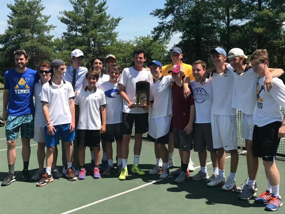 Western Albemarle boys tennis wins its 6th state title in program history