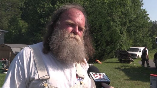 Rik Prentiss, owner of home destroyed in fire