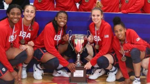 Team USA defeated Canada 91-46 to claim the Gold medal at the U-16 FIBA Americas championship in Argentina