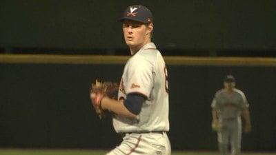 UVA pitcher Tommy Doyle