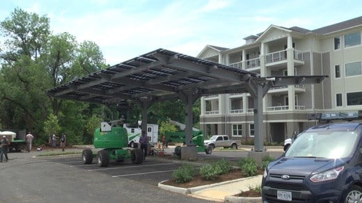 Solar canopy & Albemarle Co. Housing Development is Installing a Solar Canopy ...