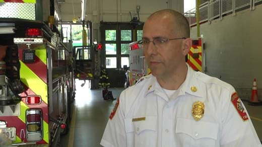 Chief Andrew Baxter, Charlottesville Fire Department
